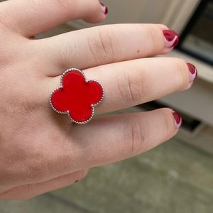 Clove Sterling Silver Ring